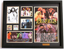 New Bee Gees Signed Limited Edition Memorabilia Framed