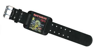 Iron Maiden Killers Cuir Bracelet ( Rz )