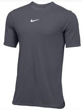 Nike Short Sleeve Football Top Gray Ao5909 060 Dri-Fit Mens Size Medium Msrp $60