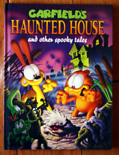 Garfield's Haunted House & Other Spooky Tales 1994 Jim Davis Hardcover Watermill