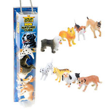 Nature Tube of Toys Wild Republic Dog Animal Figures with Playmat for Kids
