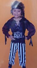 Pirate Boy's Costume Size Small