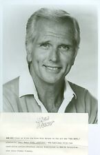 RON ELY HUNKY SMILING PORTRAIT SEA HUNT ORIGINAL 1981 TV PHOTO