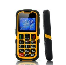 Senior Citizen Phone, Rugged SOS Quad Band GSM Bluetooth Elderly Mobile Cell New