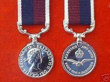 Quality RAF LONG SERVICE MINIATURE MEDALS ( LSGC )