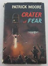 CRATER OF FEAR PATRICK MOORE 1962 HARVEY HOUSE HARDCOVER 1ST US ED DJ