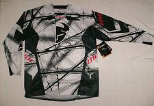 Thor core scorpio shirt Cross Enduro Jersey KTM KX-F CR-F Blanc MTB MAILLOT NEUF M