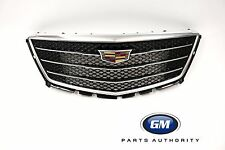 2017 Cadillac XT5 Front Grille 84124490 Black Ice Mesh w/ Bright Surround OEM GM