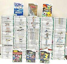 Nintendo Wii Games - Choose A Game or Bundle Up FREE UK PP KIDS MARIO SONIC