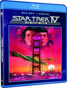 STAR TREK IV THE VOYAGE HOME (1986) [Blu-ray + Digital] New !!