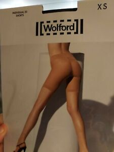 Wolford Individual 20 Shorts, Black, x small, RRP £21.99