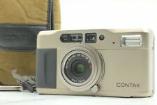 [Near Mint w/ Case] Contax TVS 35mm P&S Film Camera w/ Data Back From JAPAN #73