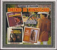 3 CD's - Lorenzo De Monteclaro CD Tesoros De Coleccion - NOW SHIPPING !