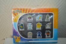 Schmuckkästchen 10 Figuren Porzellan Pokemon Fang die Tous Neu Pikachu Croquine