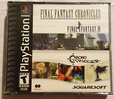 Final Fantasy Chronicles Ffiv Ff4 Chrono Trigger Ps1 Game Black Label