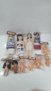 11 x Vintage Fibre Craft Dolls Bundle - New sealed job lot