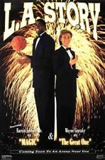 Wayne Gretzky and Magic Johnson LA STORY (1991) Vintage Original Costacos POSTER