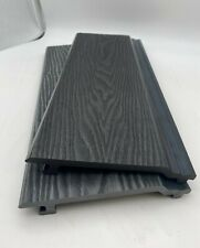 More details for composite cladding - 3.6m woodgrain finish - free delivery