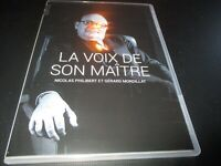 "DVD NEUF ""LA VOIX DE SON MAITRE"" documentaire de Nicolas PHILIBERT & G MORDILLAT"