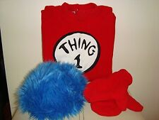Pottery Barn Kids DR.SEUSS'S THING 1 Costume  Size SM NEW HARD TO FIND THIS SIZE