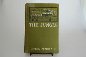 The Jungle First Edition, First Printing Upton Sinclair laid in signature