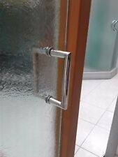 SHOWER DOOR HANDLES ( MITER HANDLES ).ALL FINISHES PN, BB, BN, ORB, CH, GOLD
