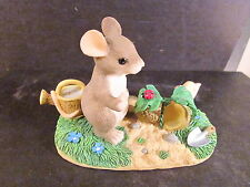 Charming Tails A Growing Friendship Club Exc 97/12 Mouse Snail ladybug