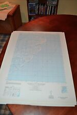 1940's Army topographic map Ship Shoal Inlet Virginia -Sheet 5858 III NE