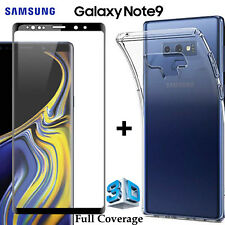 Samsung Galaxy Note 9 Clear Case Cover & 4H Anti-scratch Front Screen Protector
