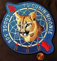 OA TU-CUBIN-NOONIE LODGE 508 BSA UTAH NATIONAL PARKS COUNCIL COUGAR JACKET PATCH