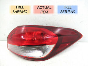 GENUINE OEM | 2017 - 2018 Kia Forte Outer Tail Light (Right/Passenger)