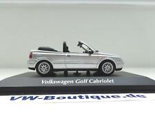 + VOLKSWAGEN VW Golf 4 Cabrio von Maxi-/Minichamps in 1:43 silber neu 940058331