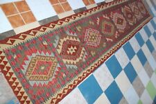 430494..Best Quality Hand Woven Lamb Wool Kilim..Size ..395.x 85..CM