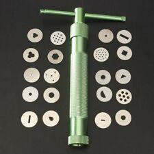 20 Discs Paste Extruder Sugar For Clay Fimo Craft Gun Cake Sculpture Decoration