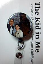 Badge Reel Name Tag ID Pull Clip Holder Lanyard Star Wars Princess Leia Gift