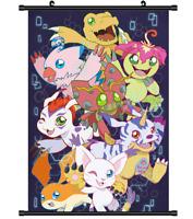 "Hot Japan Anime Digimon Adventure Poster Wall Scroll Home Decor 8""×12"" FL1028"