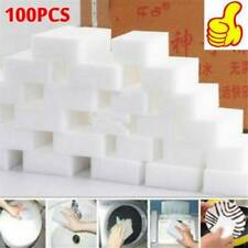 100 Extra Large Magic Cleaning Eraser Sponge White Foam Bathroom Wall Cleaner