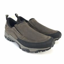 Merrell Men's Coldpack Ice + Moc Insulated Waterproof Slip On Shoes Size 11.5 D