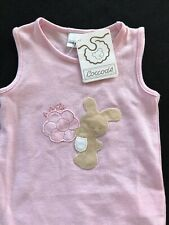 Coccode (Italy) Nwt Pink Bunny Cabbage Bodyshirt- Newborn