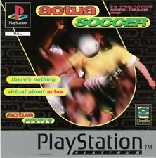 Actua Soccer - Game  XAVG The Cheap Fast Free Post