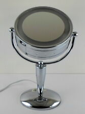 Revlon PERFECT TOUCH RV971 Chrome Swivel Touch Light Magnifying Makeup Mirror