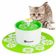Hommii Fontaine À Fleur pour Chat Automatic Electric Flower 1.6 L