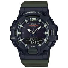 Casio HDC700-3AV, Analog/Digital Combo, Green Resin Band, 3 Alarms, Telememo