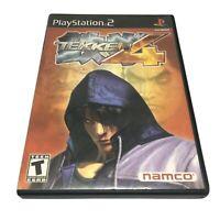 Tekken 4 (Sony PlayStation 2, 2002) Complete Mint PS2
