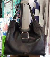 Genuine Brand New Kate Spade pxru7305 Healy Lane Jayne Black leather large bag