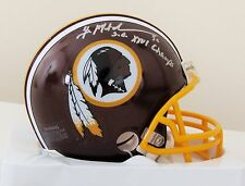 Brian Mitchell Washington Redskins Mini Helmet - Super Bowl XXVI Champs Inscript