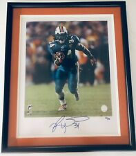 Ricky Williams Signed Authentic Autographed Photo (Mounted Memories) LE 22/34