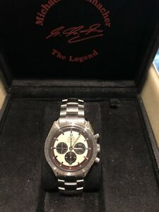 Omega Speed master The legend Schumacher Edition With  Papers 2004