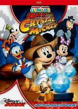 Disney Indiana Jones Mickey Mouse Clubhouse Quest for the Crystal Mickey DVD