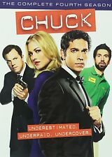 Chuck ~ Complete 4th Fourth Season 4 Four ~ BRAND NEW 5-DISC DVD SET